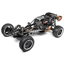 HPI BAJA 5B 2.2 2016 EDITION with d box ( drift  box ) MATTE BLACK or GUN METAL  BODY  READY TO RUN  <br />WITH OIL &amp; 240V RX CHARGER