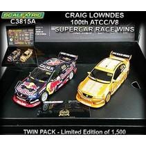 SCALEXTRIC CRAIG LOWNDES 100 ATCC/V8 SUPERCAR RACE WINS