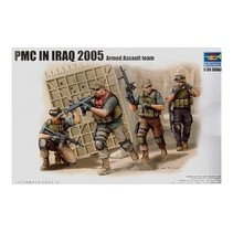 TRUMPETER 1/35 PMC IN IRAQ 2005 ARMED ASSAULT TEAM
