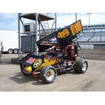2008 JAC HAUDENSCHILD CARNAHAN MOTORSPORTS 1/25 DIECAST SPRINT CAR