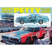 MPC SUPER PETTY 1973 DODGE CHARGER 1/16