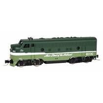 MICRO TRAINS NORTHERN PACIFIC LOCOMOTIVE Z SCALE