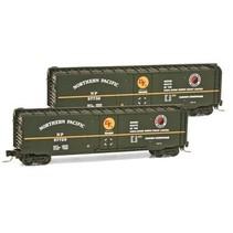MICRO TRAINS Northern Pacific 50' Standard Plug Door Box Car Z-Scale