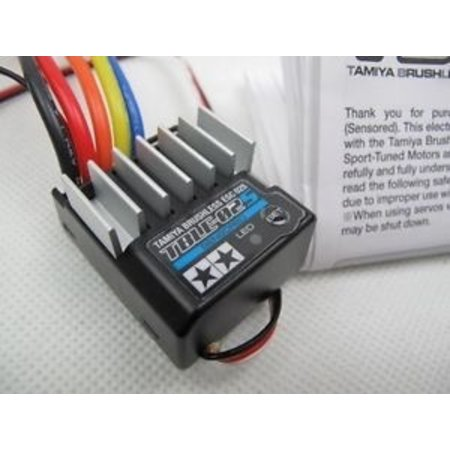 TAMIYA ELECTRONIC SPEED CONTROLLER TBLE-02S FOR BRUSHED OR SENSORED  BRUSHLESS MOTORS ONLY