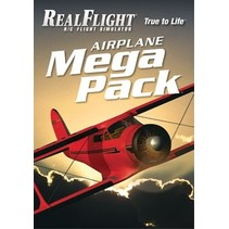 GREAT PLANES NOW $30.00 REAL FLIGHT AIRPLANE MEGA PACK OVER 35 PLANES  GPMZ4160
