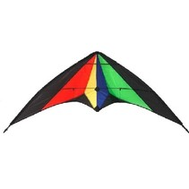 HAAK TRICKET DUAL STRING STUNT KITE<br />Size: 150cm Wingspan<br />Material: 210T Ripstop Nylon<br />Frame: 4mm fibreglass tube<br />Wind speed: 10 - 25kph<br />Line: Comes with line 2 x 30m