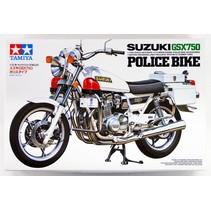 Tamiya 1/12 Scale Model Motorcycle Kit Suzuki GSX750 Police Bike