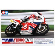 Tamiya 1/12 Scale Model Kit Yamaha YZR500 '83 OW70 Taira Japan Champion