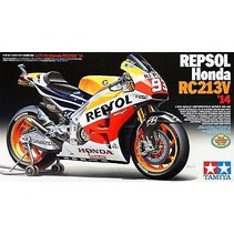 Tamiya 1/12 Scale Model Motorcycle Kit Repsol Honda RC213V MotoGP '14