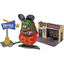 REVELL RAT FINK WITH CRAZY PAINTER DIORAMA 1/25 85-6732