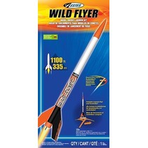 ESTES WILD FLYER ROCKET STARTER SET
