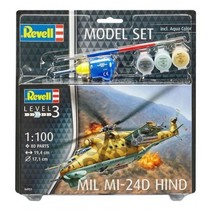 REVELL Model Set Mil Mi-24D Hind 1/100