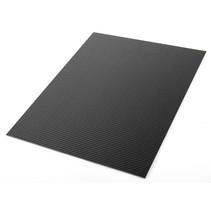 100% Carbon Fiber Plate Panel Sheet 3K Matte Glossy 250x200x2.5mm