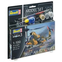 REVELL 1/100 BELL AH-1G COBRA MODEL SET