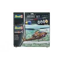 REVELL 1/24 BELL AH-1G COBRA MODEL SET