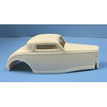 Jimmy Flintstone '32 Ford Custom With Slanted A-Pillars Rat Rod Resin Body #248