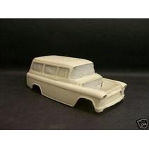 Jimmy Flintstone '55 - '57 Chevy Suburban Resin Body #120
