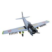 Seagull Model Skyraider Warbird RC Plane, 10cc ARF