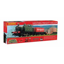 Hornby Western Freight Hauler Train Set HO/OO
