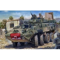 TRUMPETER LAV-III WHEELED ARMOURED VEHICLE 1/35 INCLUDES VOYAGER UPGRADE PARTS
