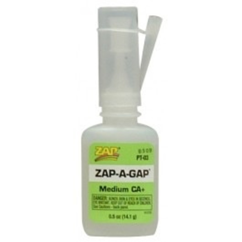 ZAP Zap-A-Gap Medium Cyno CA+ 1/2 oz PT03