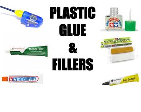 PLASTIC GLUE AND FILLERS