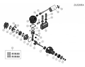 GAS ENGINES PARTS