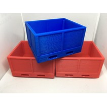 ACE 3D PRINTED STACKABLE FRUIT PALLET BOX WITH DUAL FORK SLOTS