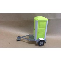 ACE 3D PRINT  1:14 TRAILER & PORT-A-LOO  CHOICE OF COLOURS PLEASE MESSAGE FOR CHOICES