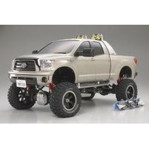 TAMIYA TUNDRA HIGH-LIFT 1/10TH SCALE 4 X 4 PICKUP TRUCK 2 SNOWBOARDS INCLUDED