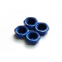 ARGUS Serrated Cap Nut M12*1.0 (4pcs)-Alu