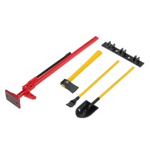 AUSTAR 4PCS RC Decoration Tools Set Kit RC Accessories for 1:10 RC Rock Crawler RED