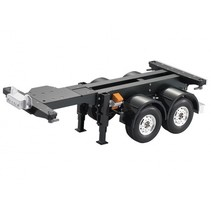 HERCULES 1/14 TRACTOR TRUCK 20' TWO AXLE CONTAINER TRAILER