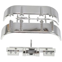 TAMIYA A PARTS FOR 56302 CHROME GUARD AND REAR BUMPER FOR SEMI TRAILER