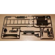 TAMIYA E PARTS FOR TAMIYA FUEL TANKER ( TRACTOR TRAILER )