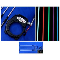 CRAFT WERKS BAJA 5B LIGHTED BUGGY WHIPS ASSORTED COLOURS BLUE,WHITE,RED,GREEN,PURPLE