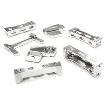 INTEGY BILLET MACHINED CHASSIS BRACE SET FOR 1/14 TRACTOR TRUCK