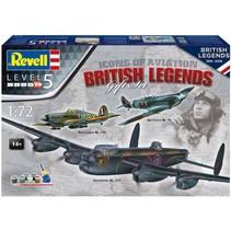 Revell 1/72 100 Years RAF: British Legends
