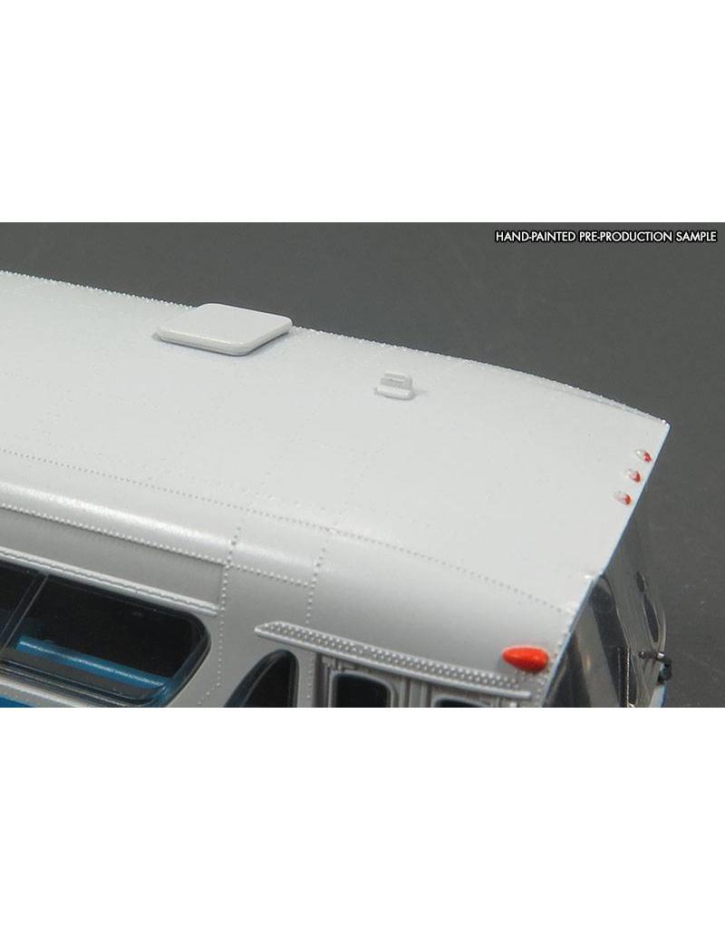MODÈLE ÉCHELLE 1/87 - Autobus New Look bleu C.T.C.U.M.  Édition Deluxe #18-093