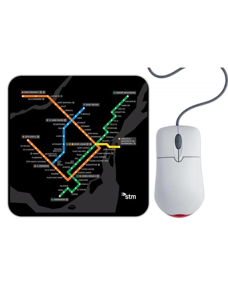 Tapis de souris - Plan du metro (MV2221)