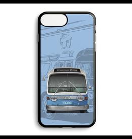 Étui de téléphone personnalisé - Autobus New Look bleu