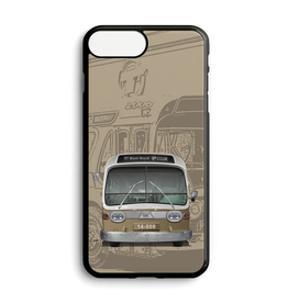Custom hone case - New Look brown bus