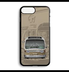 Étui de téléphone personnalisé - Autobus New Look brun