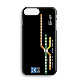Custom phone case - 1967 Montreal metro map