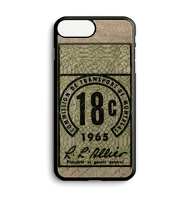 Custom phone case - TICKET 18C YEAR 1965
