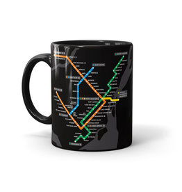 CUP  - Montreal Métro map
