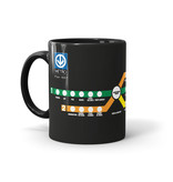 CUP 11oz - 1967 Montreal Metro map