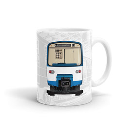 TASSE 11oz - Métro MR-63