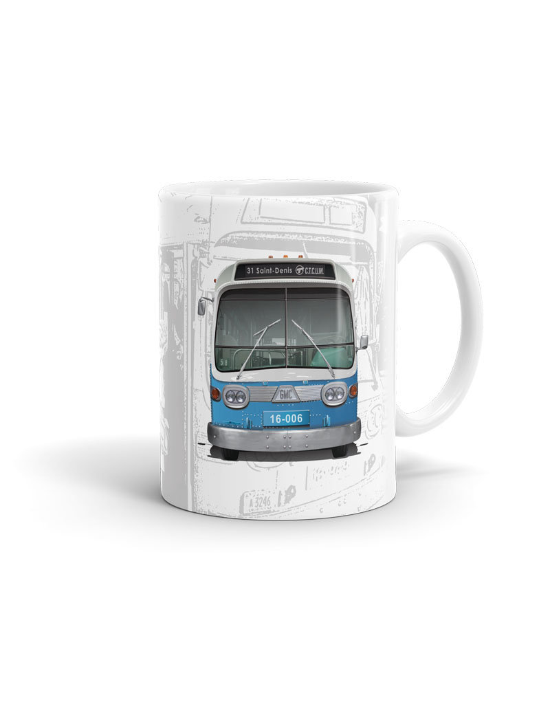 CUP 11oz - New Look bus