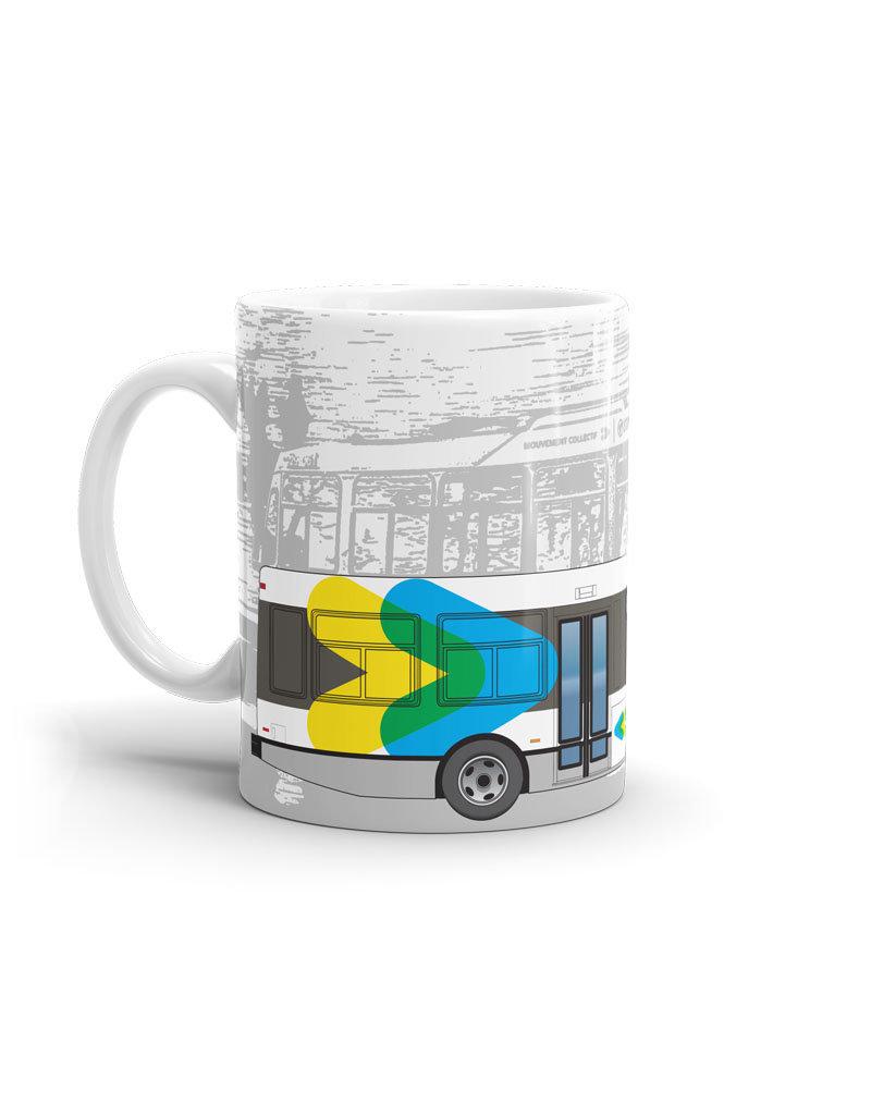 CUP 11oz - NOVA Bus